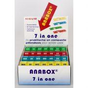 Anabox® weekbox display 12 stuks