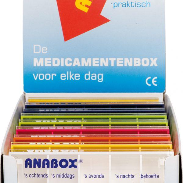 Anabox® dagbox display 16 stuks