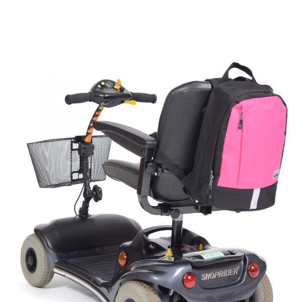 Rugzak Mobility klein zwart/roze