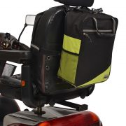 ALS227-BA Wheelyscoot tas zwart/groen €54,95