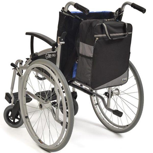 Wheelyscoot tas zwart/grijs