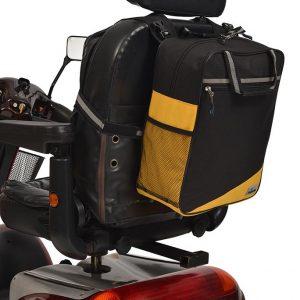 Wheelyscoot tas zwart/geel