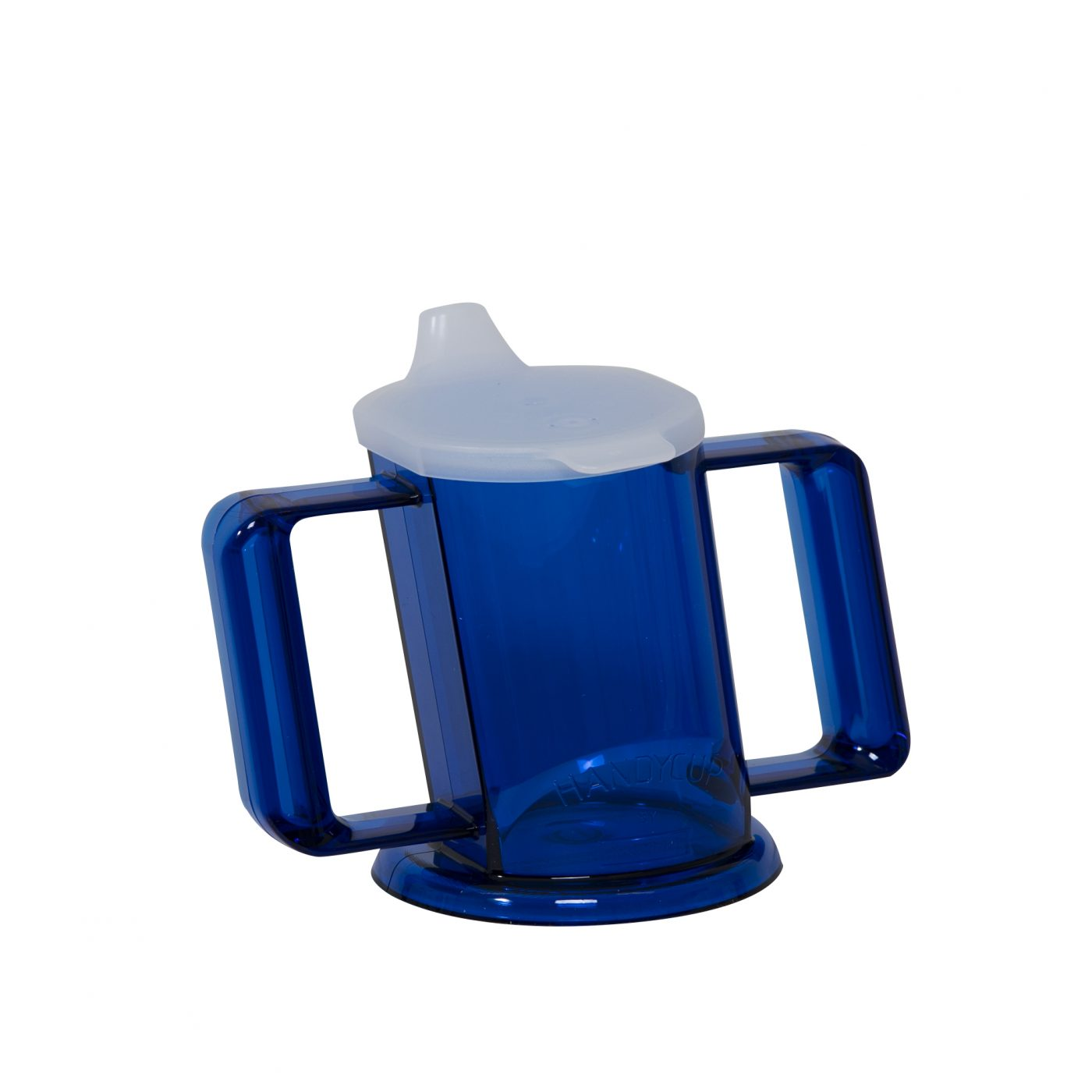 HandyCup met deksel blauw