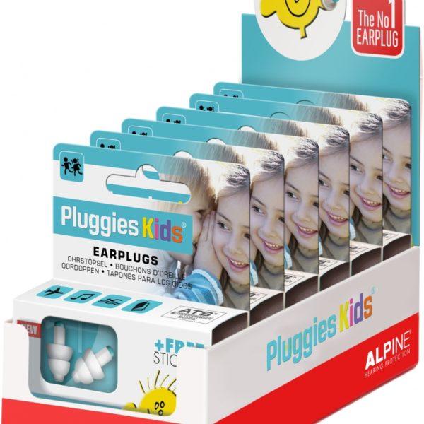 Pluggies Kids display 6 stuks