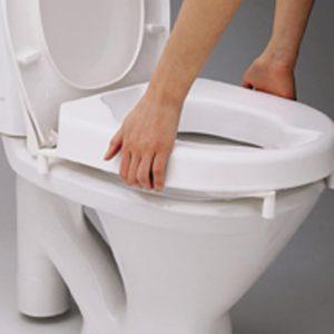 Hi-Loo toiletverhoger hoogte 6 of 10 cm