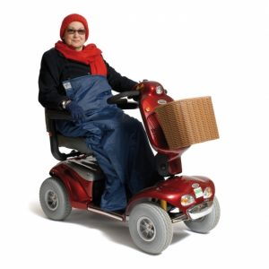 Deluxe Scooter Cosy maat M of L