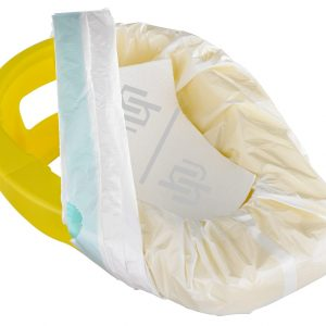 Hygie Bedpan Set Bedpan & 6 hygiënische zakken
