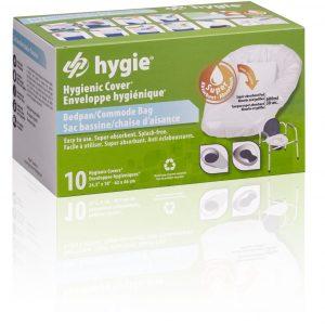 Hygie Bedpan-& Toiletemmerzakken 10 stuks