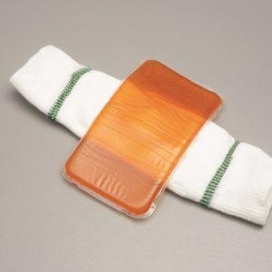 Elleboog-hiel beschermer gel max. omtrek 23, 28 of 33 cm
