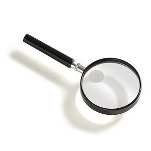 Vergrootglas rond diameter 7,5 of 9 cm