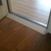 Indoor drempelhulp decorprint hout 96 x 14 cm