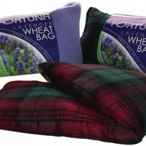 Tarwezak lavendel paars of tartan