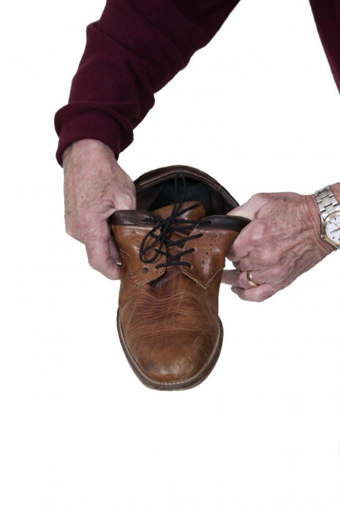 Elastische schoenveters zwart, bruin of wit 94 cm