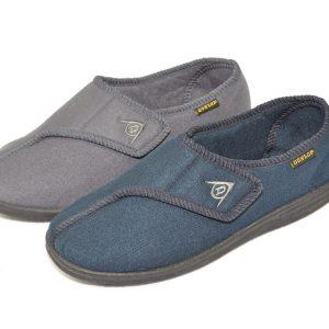 Pantoffels Arthur grijs man maat 40 t/m 46