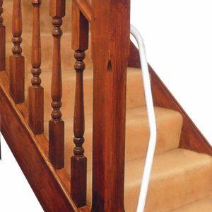 Beugel voor trapleuning links of rechtshandig