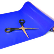 Anti-slip rol L 9 m x B 20 cm blauw of rood