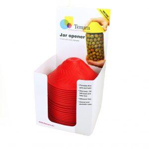 Able2 anti-slip potopener potopener verschillende kleuren display 25 st.