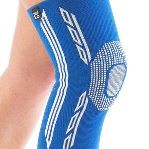 Airflow Plus stabiliserende knie support met siliconen patella kussen verschillende maten